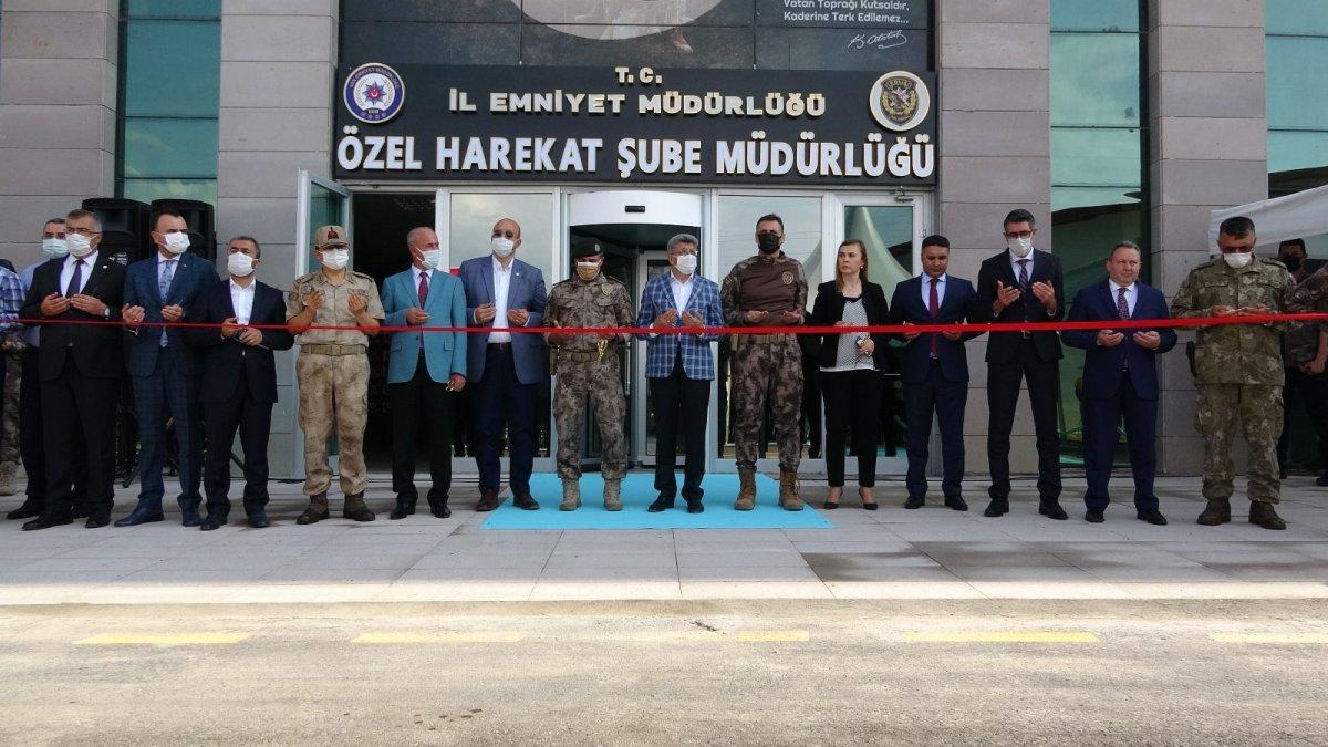 Van'da Özel Harekat Şube Müdürlüğünün hizmet binası açıldı