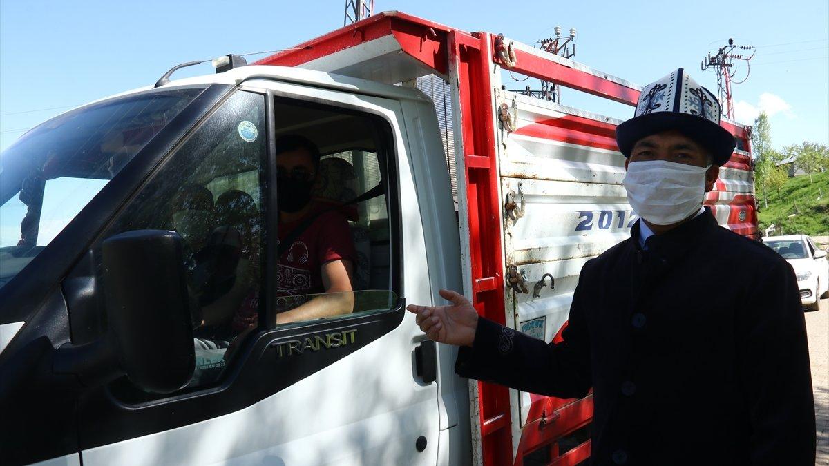 Van'daki Kırgız Türkleri Kovid-19 tedbirlerini elden bırakmıyor