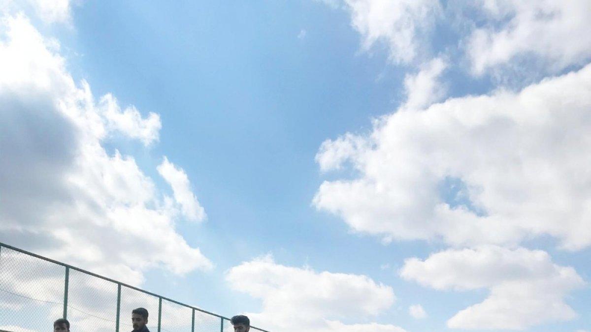 Vanlı 'Pelle'nin oğlu hem antrenörlük hem takım kaptanlığı yapıyor