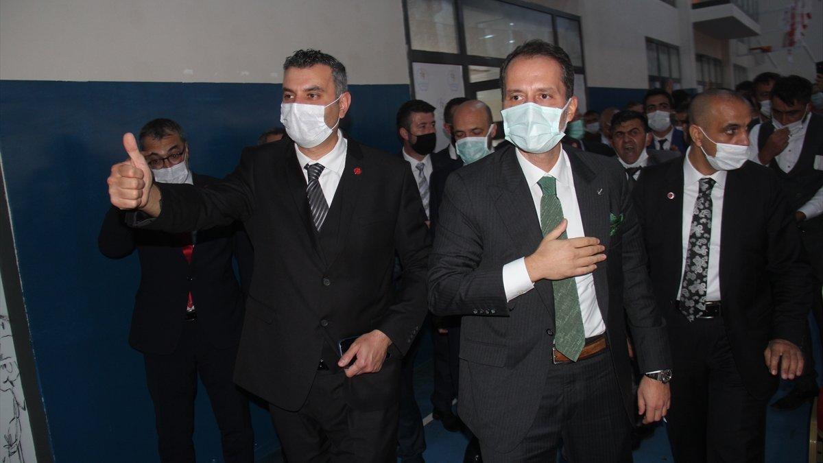 Yeniden Refah Partisi Genel Başkanı Erbakan, Ardahan'da projelerini anlattı