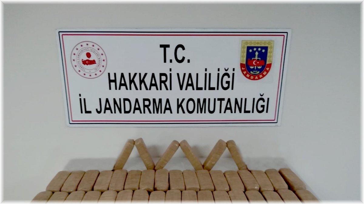 Yüksekova'da 23 kilo eroin ele geçirildi