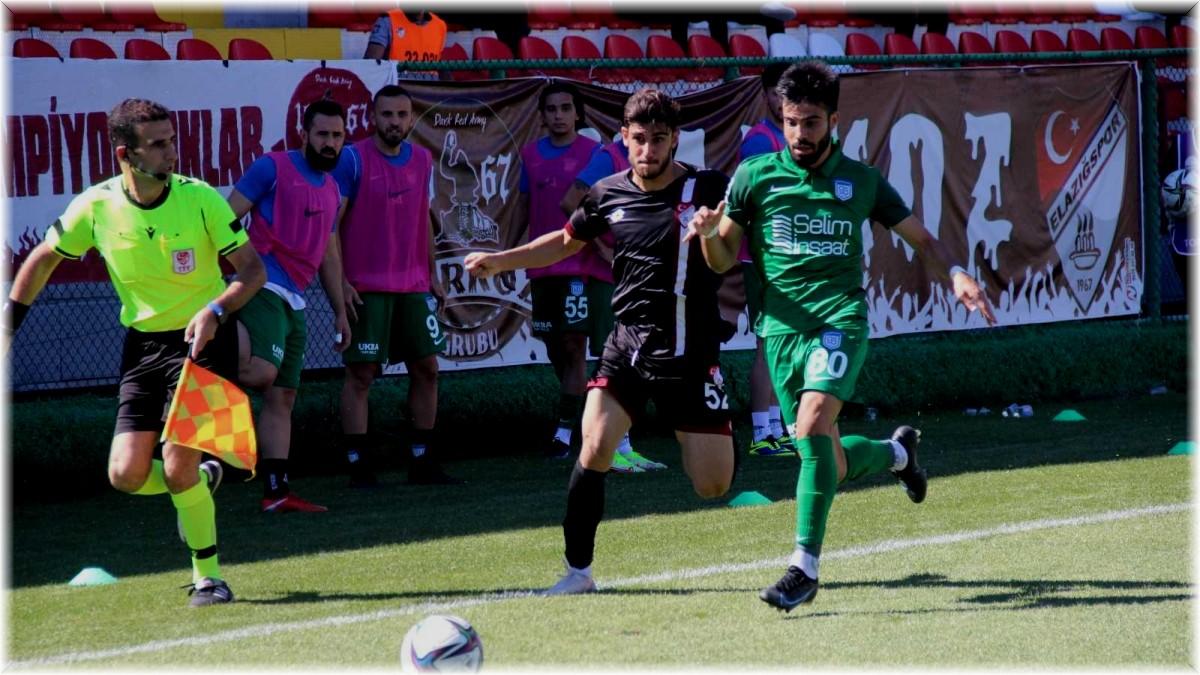 Ziraat Türkiye Kupası: Elazığspor: 0 - Arnavutköy Belediyesi Gençlik ve Spor: 1