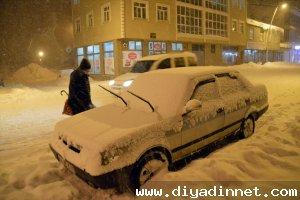 Eleşkirt'te kar tatili