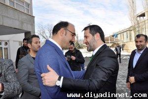 AK Parti İl Başkanı Gür'den Çukurca ziyareti
