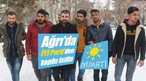 Ağrı'da İYİ Parti'den toplu istifa