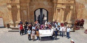 Bayburtlu öğrenciler Doğubayazıt'ın tarihi ve turistik mekanlarını ziyareti