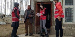 Türk Kızılay'ı Patnos Şubesi ihtiyaçları karşılamaya devam ediyor
