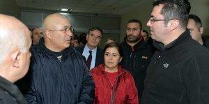 Erzurum Valisi Memiş, Ağrı'daki roketli saldırıda yaralananları ziyaret etti