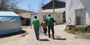 İHH'dan 1500 aileye gıda kolisi