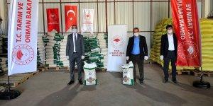 Bingöl'de çiftçiye yüzde 75 hibeli tohum dağıtımına başlandı