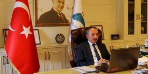 Rektör Karabulut, YÖK Başkanı Saraç'ın başkanlığında toplantıya katıldı