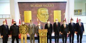 Emniyet Genel Müdürü Aktaş, Iğdır'da ziyaret ve incelemelerde bulundu