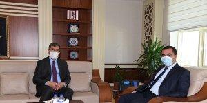 Muş Belediye Başkanı Asya'dan Emniyet Müdürü Arıbaş'a 'teşekkür' ziyareti