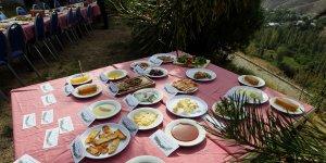Erzurum'un Olur ilçesi 'damaklarda tat bırakan yöresel lezzet'leriyle tanıtım atağında