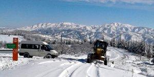 Elazığ, Şırnak, Mardin ve Siirt'te kar nedeniyle toplam 280 köy, 25 mahalle ve 3 mezra ile ulaşım sağlanamıyor