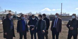 Saray'da spor tesislerinin yapımına başlandı
