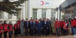 Baskil'de Türk Kızılay temsilciliği ve sosyal market açıldı