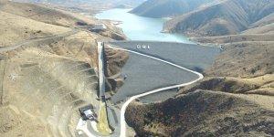 Elazığ'da DSİ Genel Müdürlüğü'nün içme suyu tesisleri için çalışmaları devam ediyor