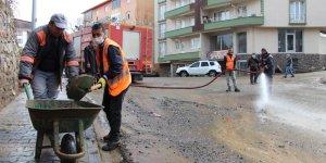 Bingöl'de sel sonrası temizlik seferberliği