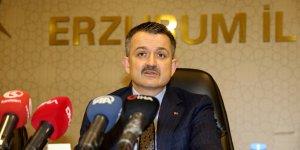 Tarım ve Orman Bakanı Pakdemirli AK Parti Erzurum İl Başkanlığını ziyaret etti: