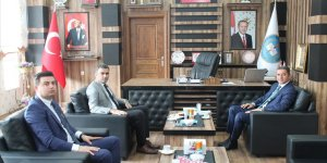 Muş Cumhuriyet Başsavcısı Yavuz, Korkut Belediye Başkanı Pekbay'ı ziyaret etti