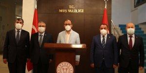 Gençlik ve Spor Bakanı Kasapoğlu, Muş'ta çeşitli temaslarda bulundu: