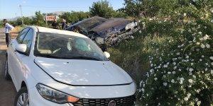Malatya'da iki otomobil çarpıştı: 4 yaralı
