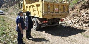Akyaka Kanyonu'nda çalışmalar başladı