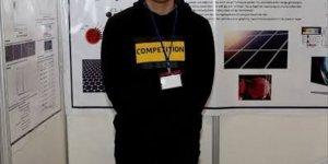 Malatyalı lise öğrencisi ABD'deki bilim ve mühendislik yarışmasında birinci oldu