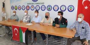 Erzincan'da Sivil Toplum Kuruluşları, Filistin için yardım kampanyası başlattı