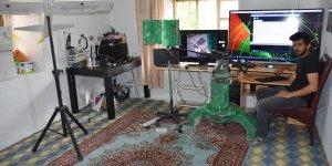 """Hakkarili genç """"radar ve silah entegrasyonu sistemi"""" tasarladı"""