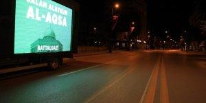 Battalgazi'den Filistin'e selamlı destek