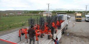 Muş'ta üretilen tarım aletleri ihraç ediliyor