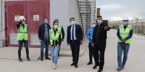 Genel Sekreter Çelikel, Özalp ve Saray'daki yatırımları inceledi