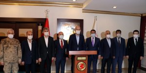 İçişleri Bakanı Süleyman Soylu, Ağrı'da güvenlik toplantısında konuştu: (1)
