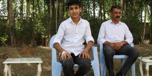 Van'ın gururu LGS birincilerinden İmam hatip ortaokulu öğrencisi Hakan Şakar: