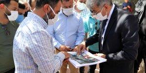 Van Büyükşehir Belediyesi Erek Dağı Caddesi'ni yeniliyor
