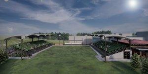 Yeşilyurt Atılgan Parkı ile güreş sahası modern bir kimliğe kavuşuyor
