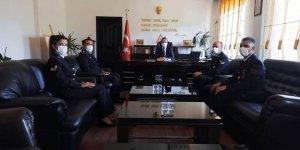 Jandarmadan Kaymakam Arslantürk'e ziyaret
