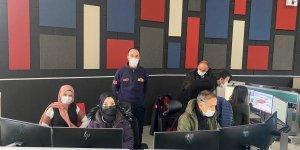İtfaiye Müdürlüğü 112 Acil Çağrı Merkezinde hizmetine devam ediyor