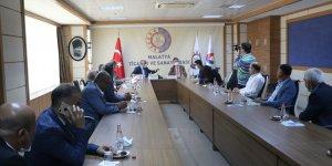 AB Türkiye Delegasyonu Başkanı'ndan MTSO'ya ziyaret