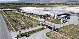 Türk Kızılay Erzincan Mineralli Su İşletmesi'nde yeni üretim hattı açılarak kapasite artırıldı