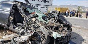 Erzincan'da 2020 yılında 700 adet trafik kazası meydana geldi