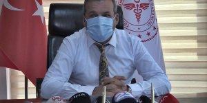 Elazığ Sağlık Müdürü Polat aşılama oranında yüzde 54,82'ye ulaştıklarını açıkladı: