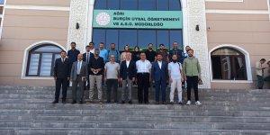 AK Parti Ağrı İl Başkanı Özyolcu gazetecilerle bir araya geldi: