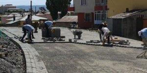 Bingöl Belediyesi'nin üstyapı çalışmaları devam ediyor