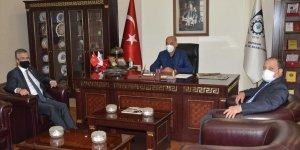 MHP Genel Başkan Yardımcısı ve Erzurum Milletvekili Kamil Aydın'dan ETSO'ya ziyaret