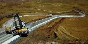 """Van-İran sınırı beton duvar, hendek ve kulelerle """"geçilmez"""" olacak"""