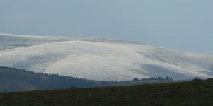 Ardahan'da dağlar beyaza büründü