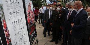 Erzincan'da '15 Temmuz Kronoloji Sergisi' açıldı